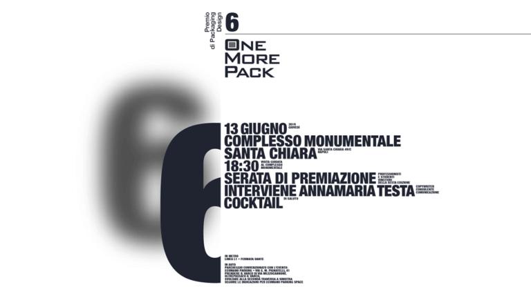 Studio La Regina - premio OneMorePack 2019