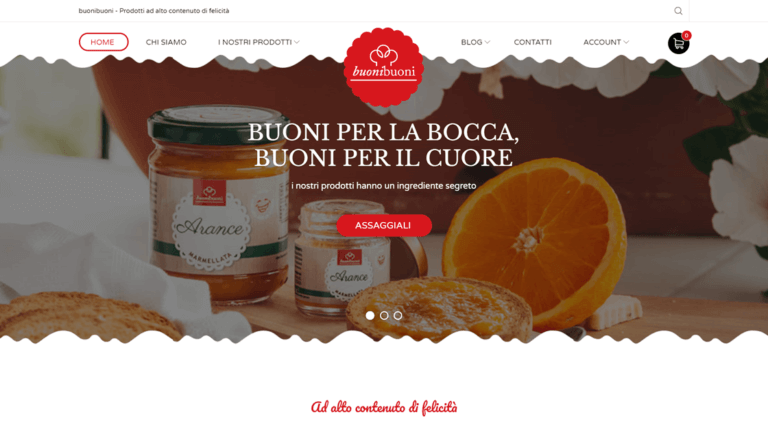 Nuovo sito e-commerce per buonibuoni