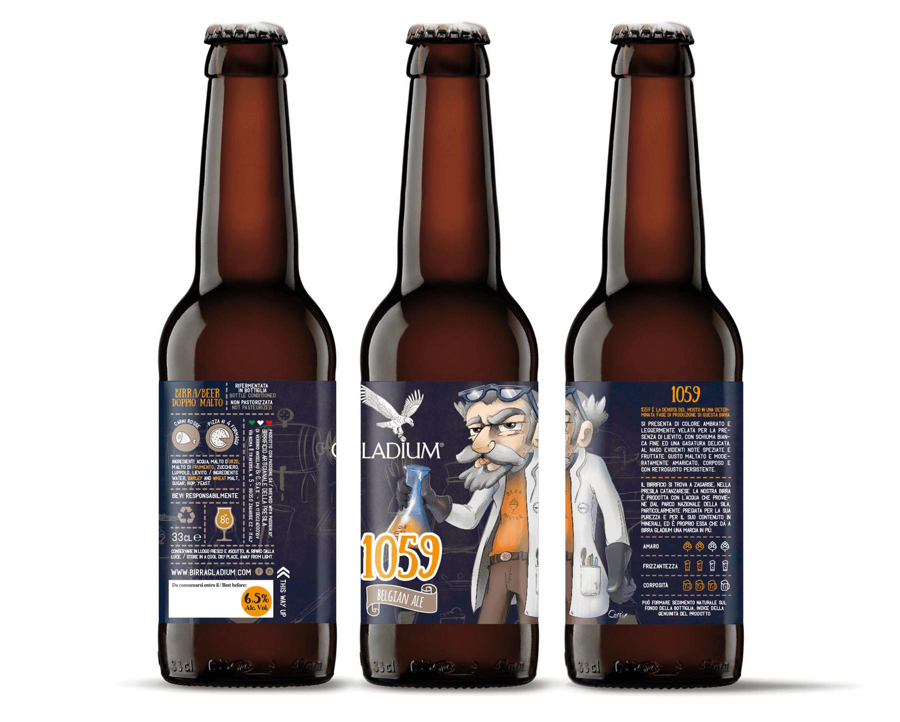 Studio La Regina - Birra Gladium 33 cl 1059