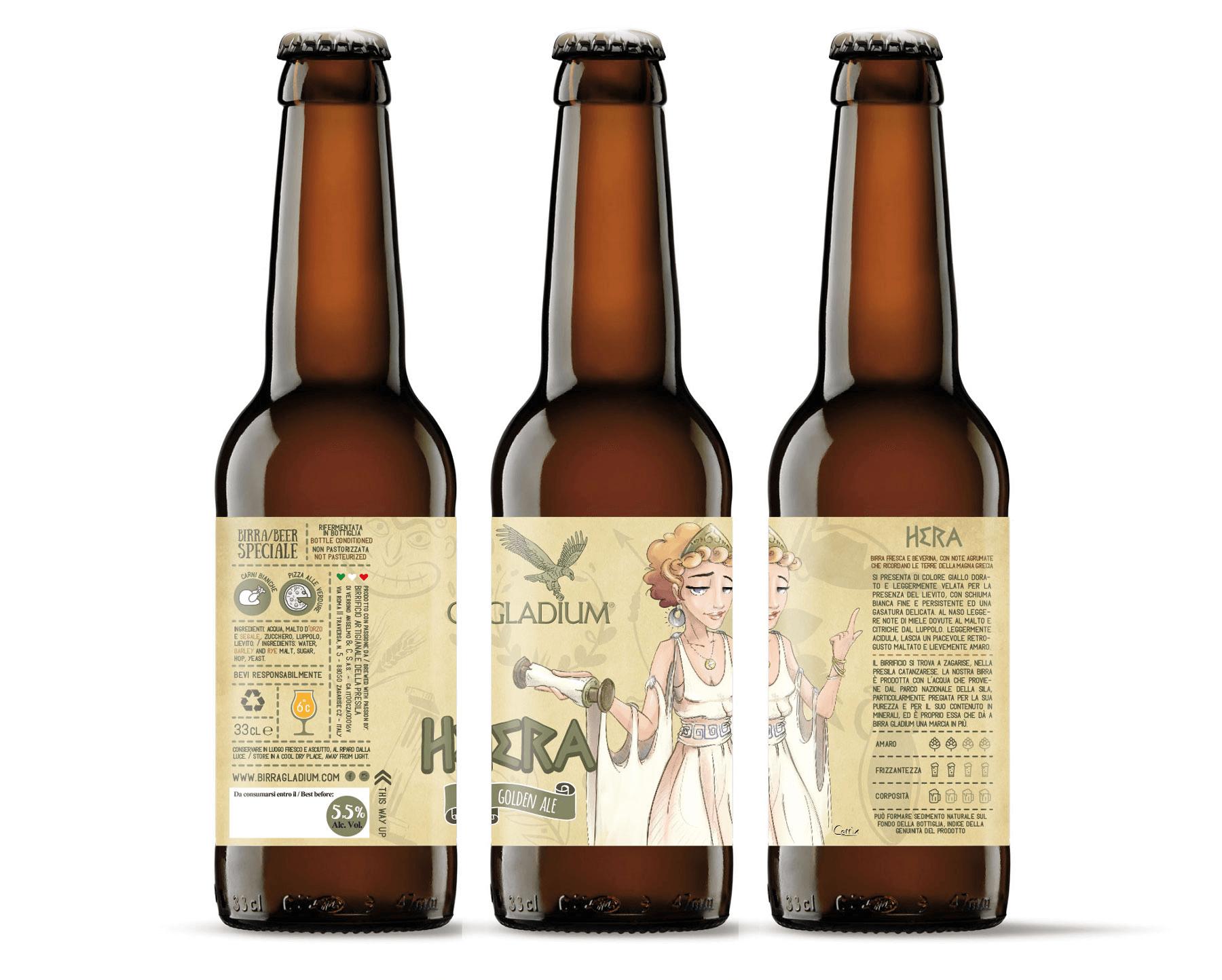 Studio La Regina - Birra Gladium 33 cl hera