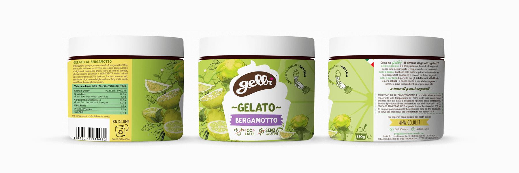 Studio La Regina - gelato Gelbi al bergamotto