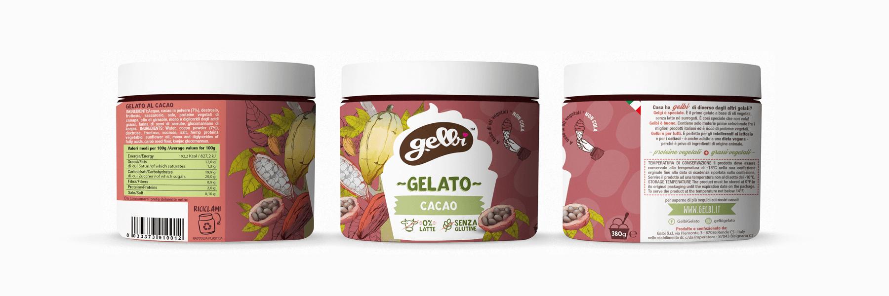 Studio La Regina - gelato Gelbi al cacao
