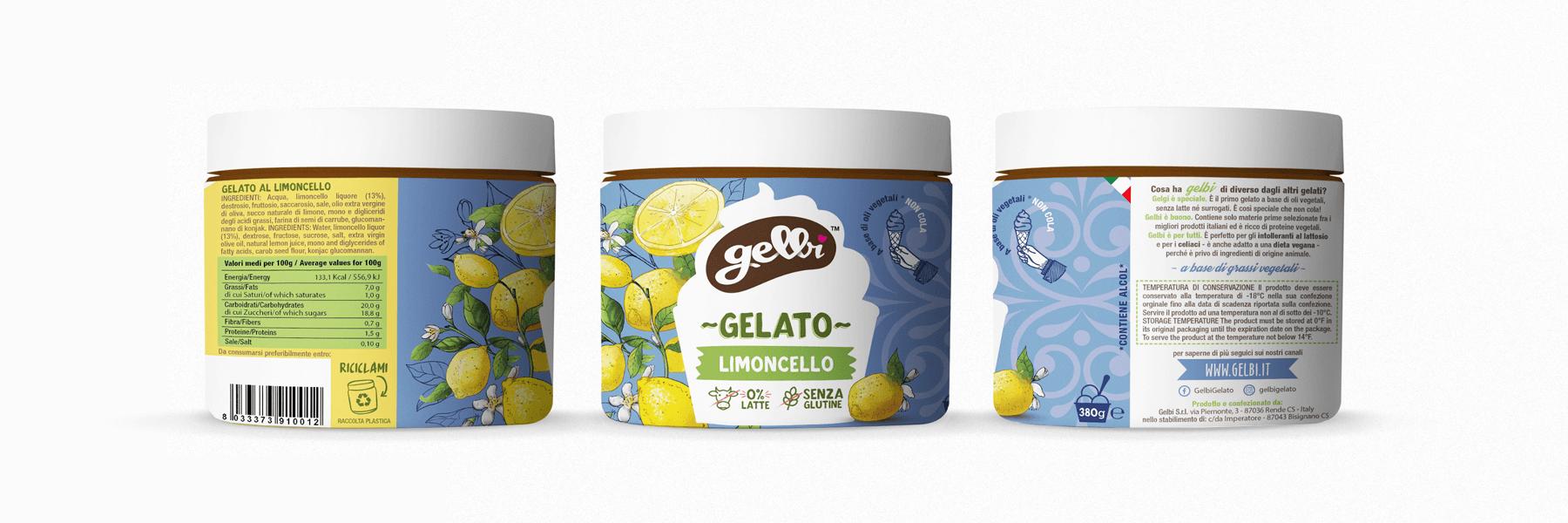 Studio La Regina - gelato Gelbi al limoncello