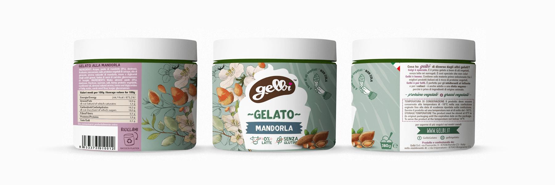 Studio La Regina - gelato Gelbi alla mandorla