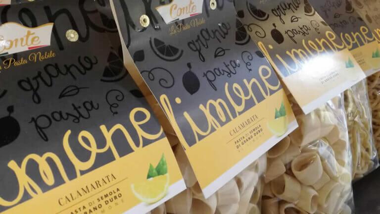 A Rocca Imperiale per la presentazione della Pasta Conte al Limone