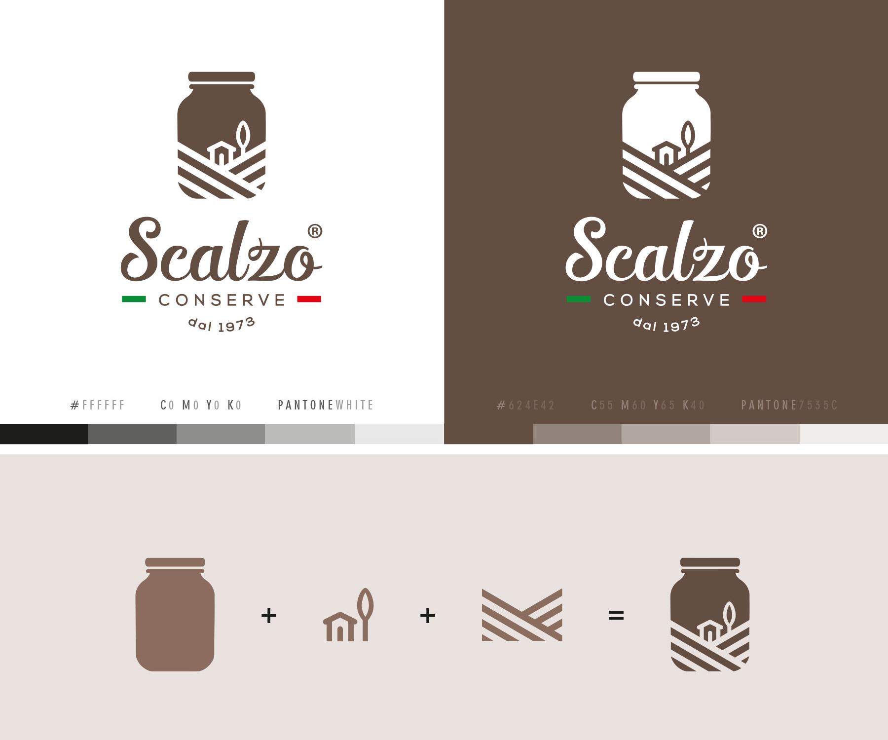 Studio La Regina - logo Scalzo Conserve