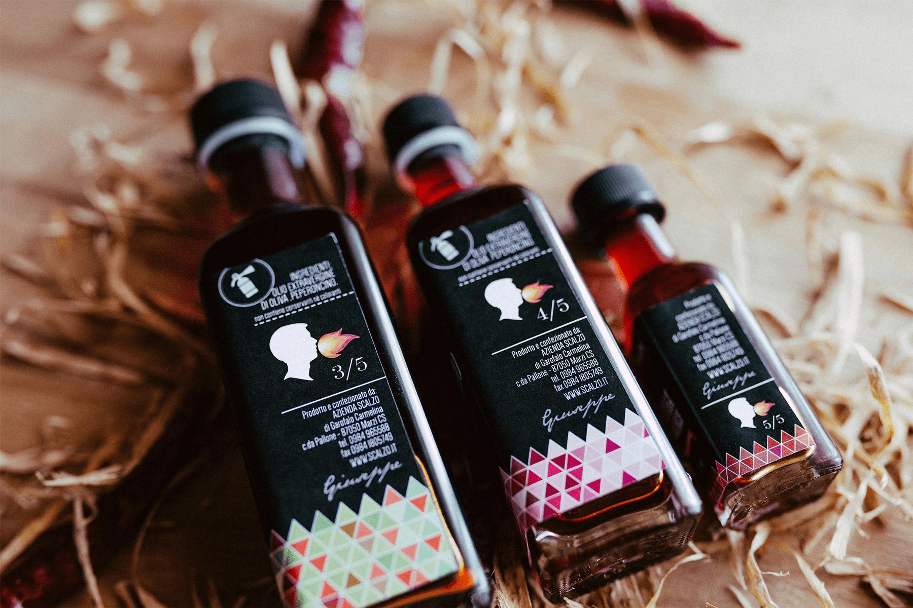 Studio La Regina - linea condimenti al peperoncino Scalzo