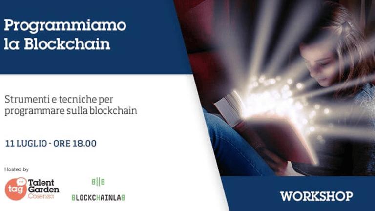 Programmiamo la Blockchain