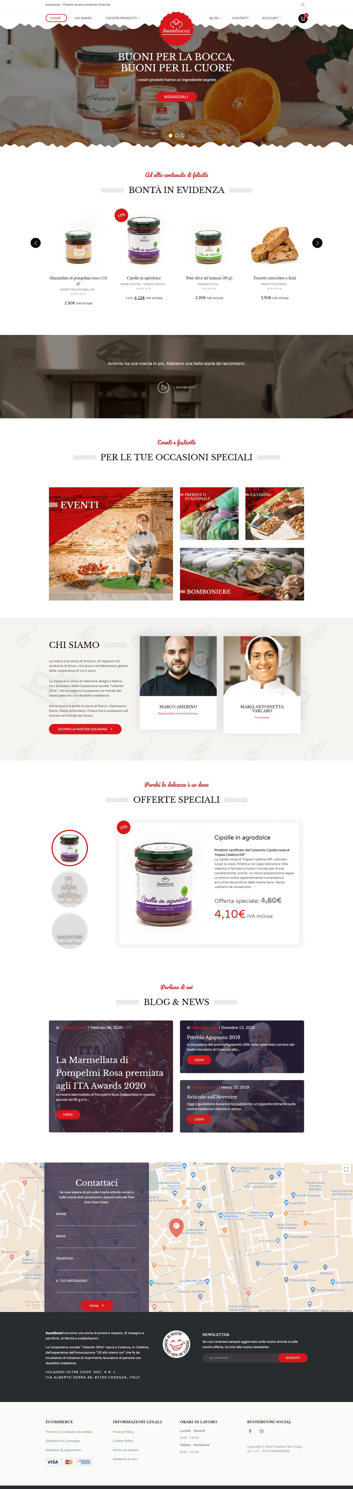 Studio La Regina - il sito e-commerce di Buoni Buoni