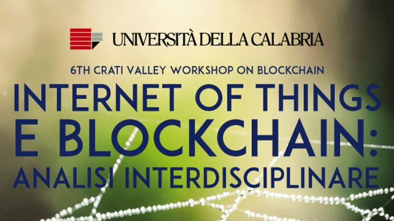 Internet of Things e Blockchain: analisi interdisciplinare