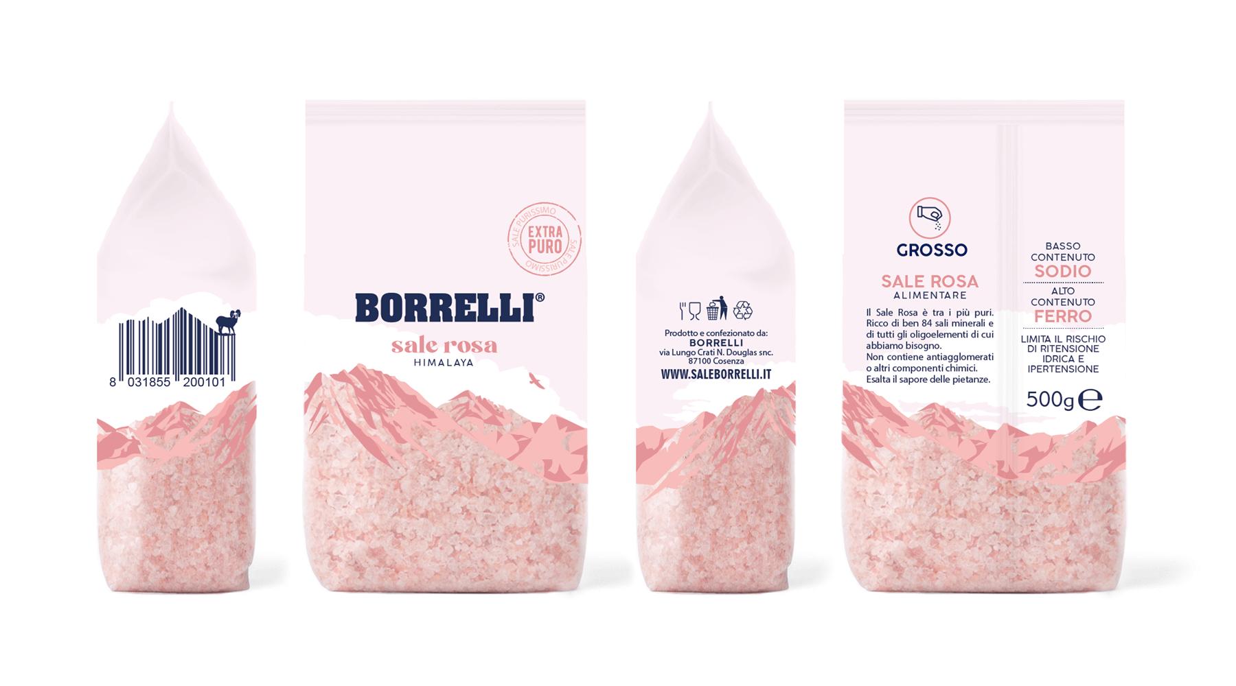 Studio La Regina - sale grosso rosa dell'Himalaya Borrelli