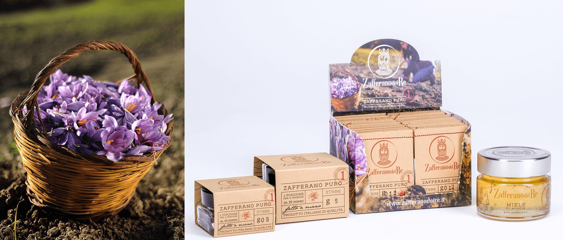 Studio La Regina - la prima linea di prodotti di Zafferano Del Re