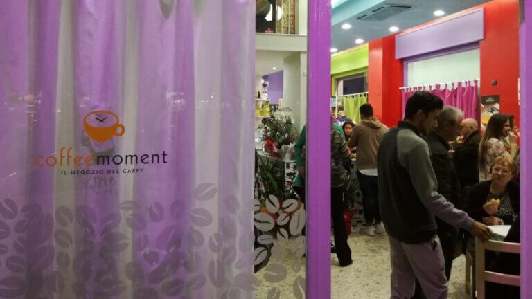 Inaugurazione del secondo locale Coffee Moment