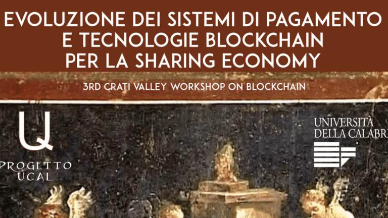 Evoluzione dei Sistemi di Pagamento e Tecnologie Blockchain per la Sharing Economy