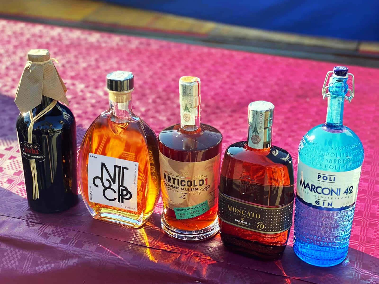 Studio La Regina - liquori e distillati vincitori del Premio Mediterraneo Packaging 2021