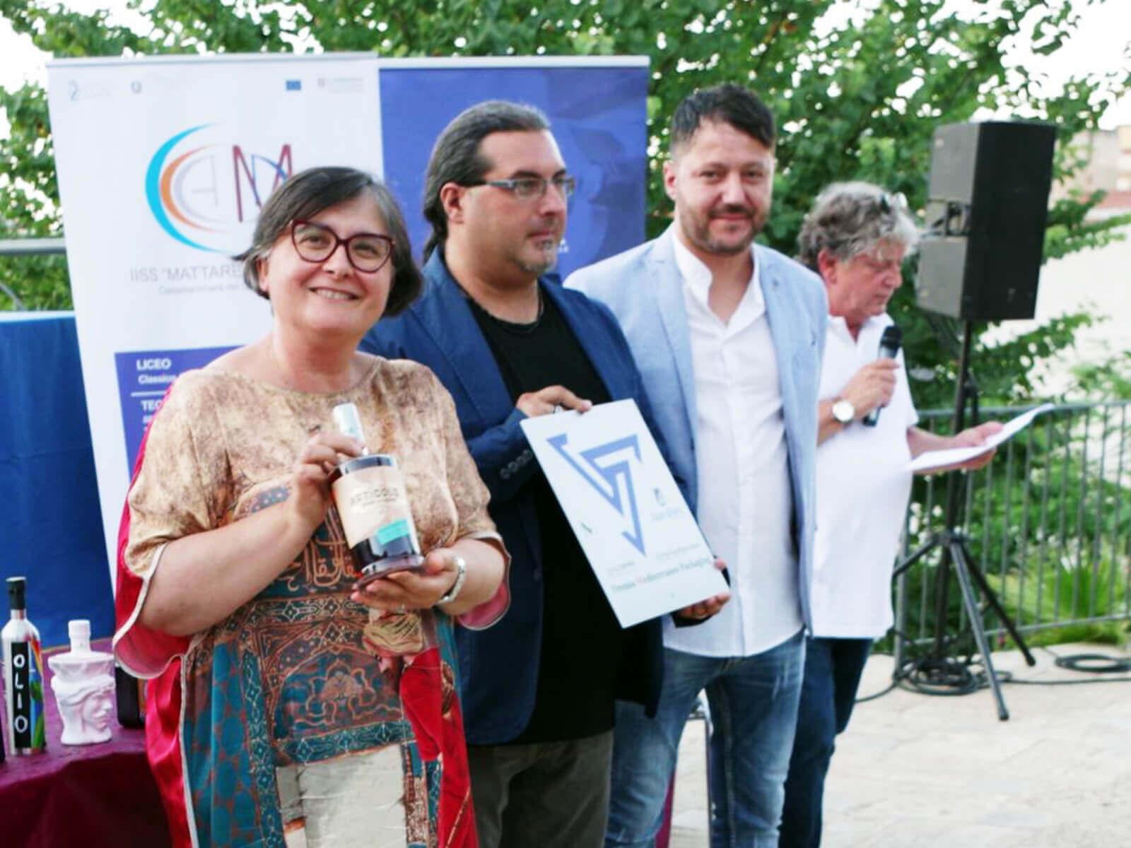 Studio La Regina - Articolo 1 premiato al Premio Mediterraneo Packaging 2021